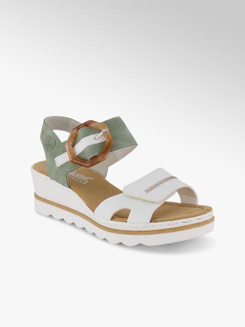 Rieker Rieker sandaletto alto donna bianco