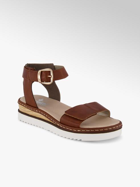Rieker Rieker sandalette haute femmes cognac