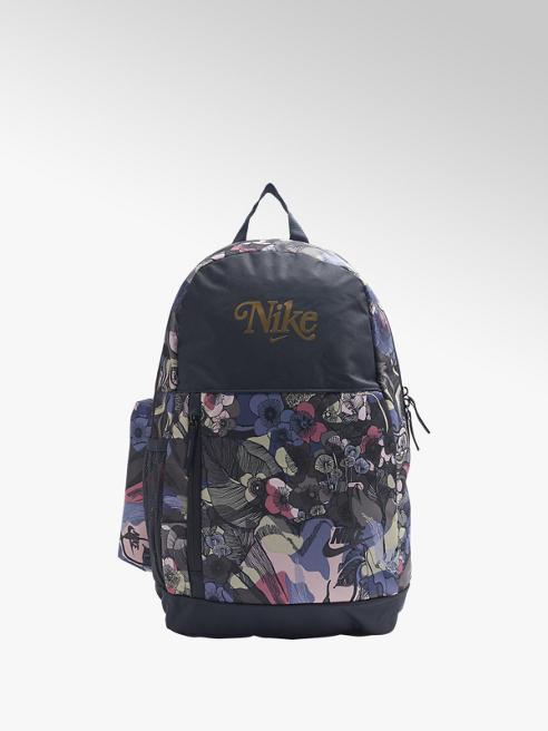 NIKE granatowy plecak damski Nike ELEMENTAL w kwiatowy wzór