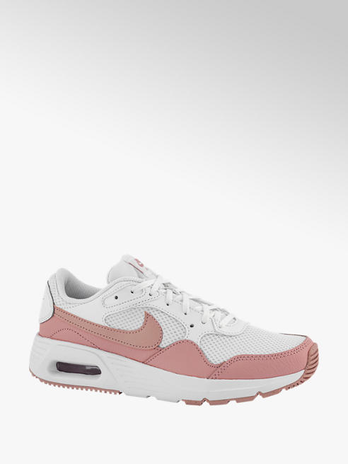 Nike Wit/roze Air Max SC