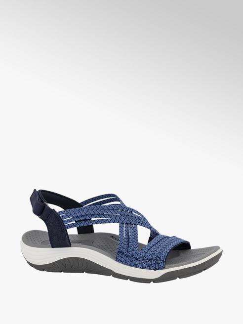 Skechers Blauwe sandaal stretch