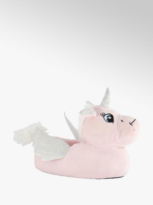 Cupcake Couture Roze eenhoorn pantoffel