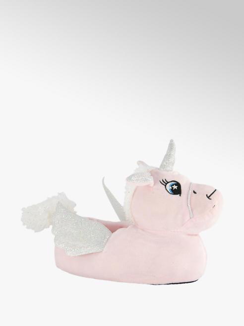 Graceland Roze eenhoorn pantoffel