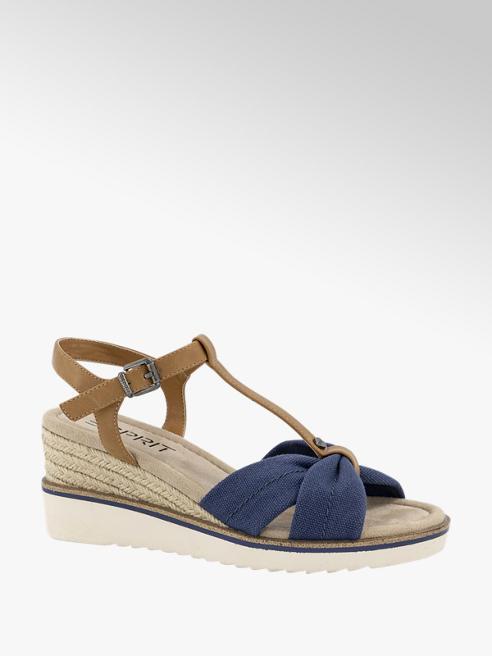 Esprit Blauwe sandalette
