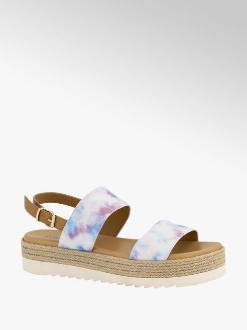 Oxmox Tie dye sandalette