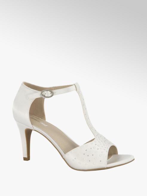 Graceland Witte sandalette perforatie