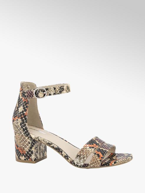 Graceland Sandalette slangenprint
