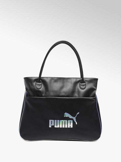 Puma Zwarte Core Up Large Shopper