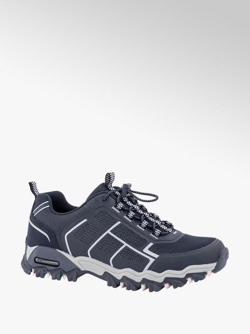 Landrover Blauwe wandelschoen elastiek