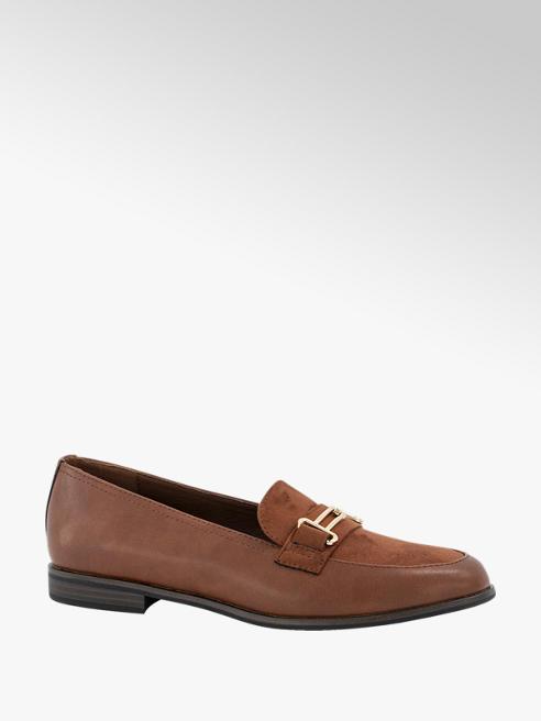 Graceland Cognac loafer