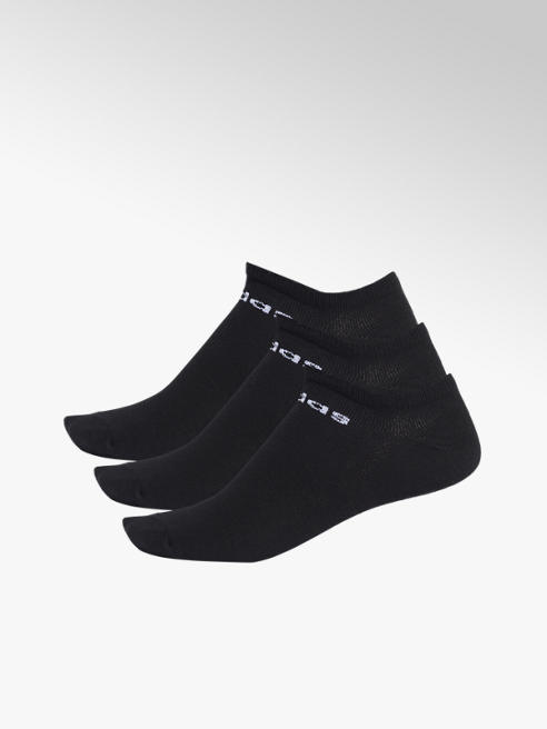 adidas Zwarte NC Low Cut 3 pak mt 37-39