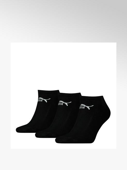 Puma Zwarte sneaker sokken mt 39-42