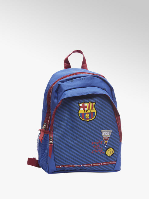 Blauwe rugzak Barcelona