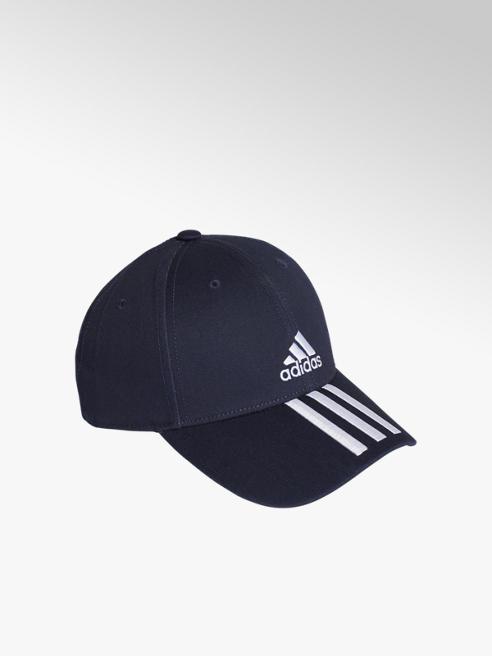 adidas Спортна черна шапка с козирка adidas BBALL 3S CAP CT