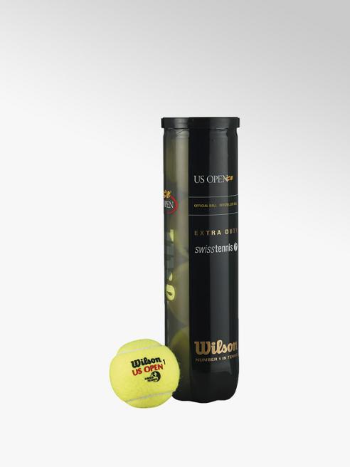 Wilson US Open balles de tennis 4 pack