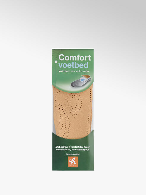 Comfortzool leren voetbed (maat 45 )