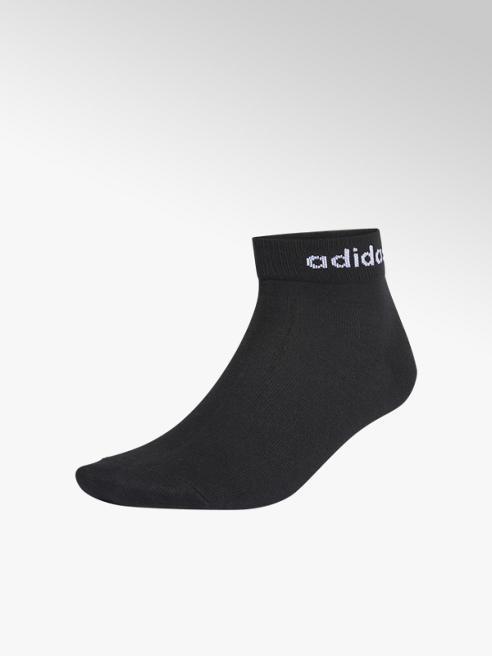 adidas Zwarte NC Ankle 3 pak mt 37-39