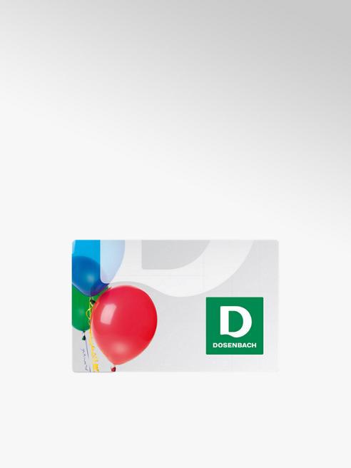 Dosenbach Carte cadeau avec motif ballon