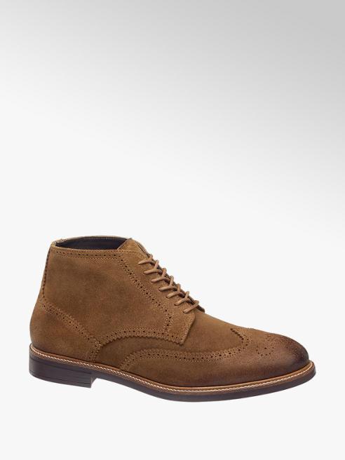 AM SHOE Leder Schnürschuhe