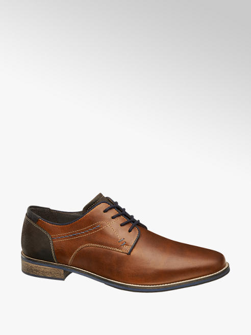 AM SHOE Mens Formal Lace-up Shoes