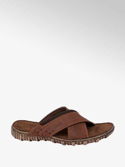 AM SHOE Open Toe Mule Sandals