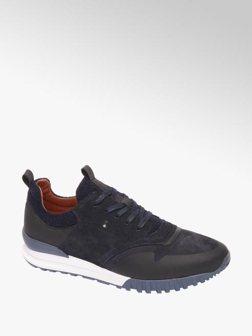 AM shoe Donkerblauwe suède sneaker
