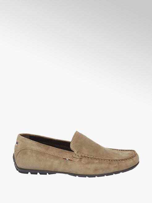 AM shoe Taupe suède mocassin