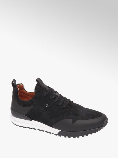 AM shoe Zwarte suède sneaker