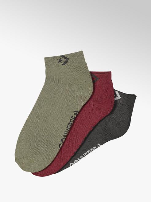 Converse Quarter chaussettes 3 pack