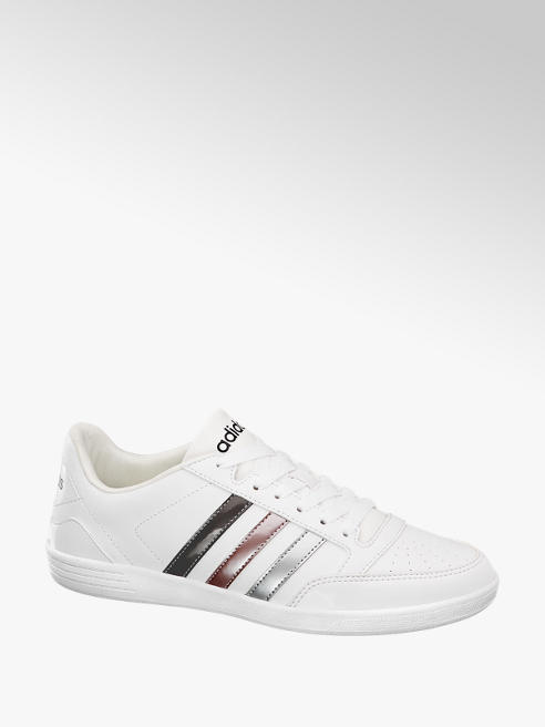 adidas Ladies Adidas VL Hoops White Lace-up Trainers