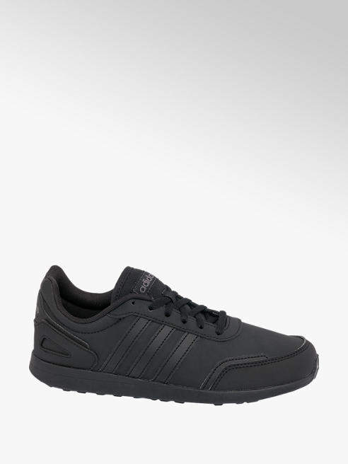 adidas Teen Adidas VS Switch Black Lace-up Trainers