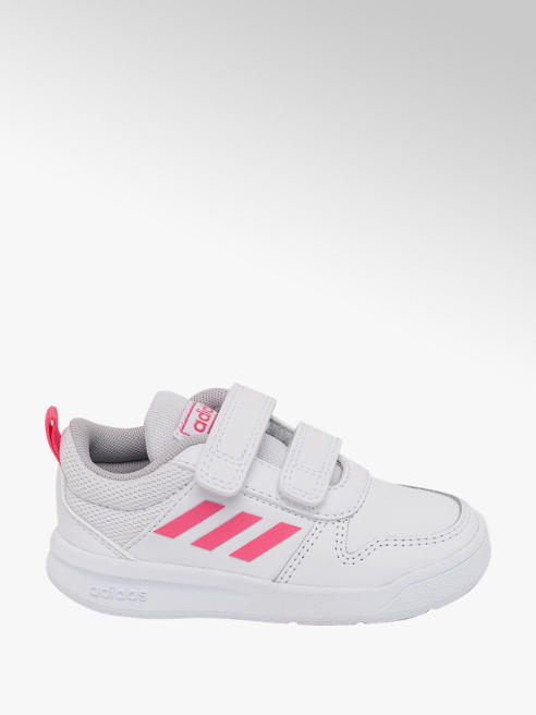 adidas Toddler Girls Adidas Tensaurus White/ Pink Trainers