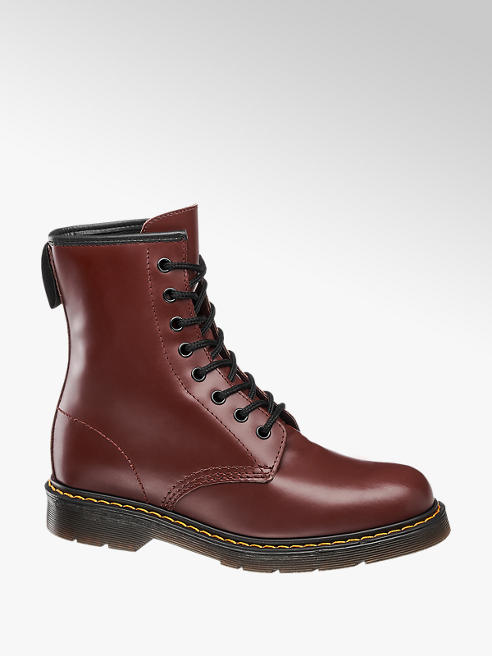 Highland Creek Anfibio in similpelle bordeaux