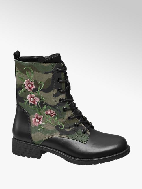 Graceland Anfibio militare con finitura camouflage