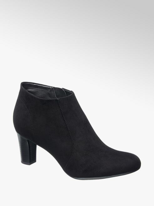 Graceland Ankle Boot nero scamosciato
