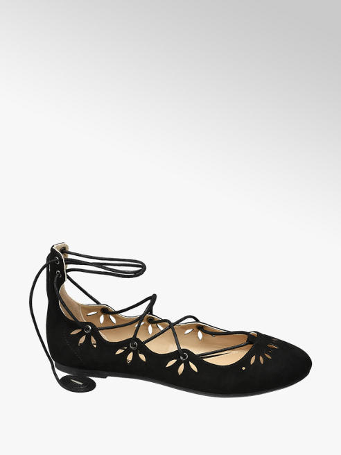 Graceland Bailarina lace up