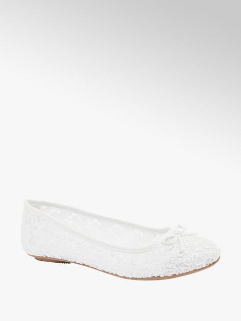 Graceland Ballerina bianca ricamata
