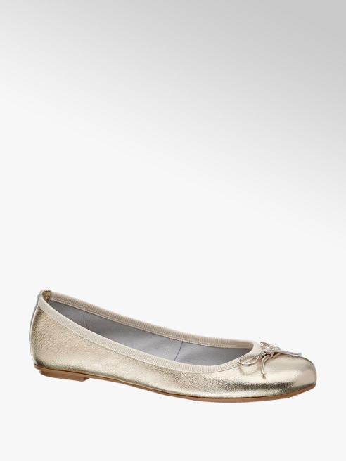 5th Avenue Ballerina in pelle oro