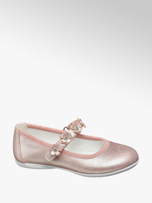 Cupcake Couture Ballerina rosa con cinturino decorato