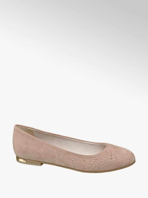 Graceland Ballerina rosa con perline