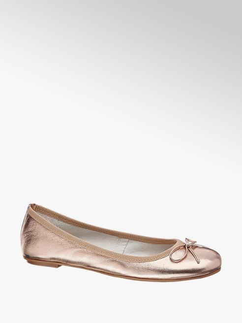 5th Avenue Ballerina rosa in pelle
