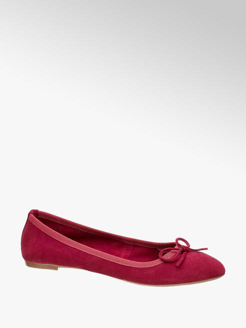5th Avenue Ballerina scamosciata rossa