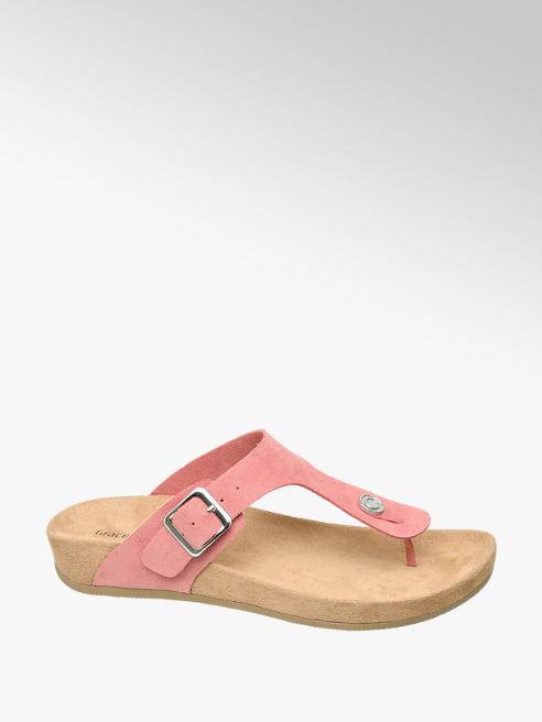 Graceland Barack színű lábujjközi papucs