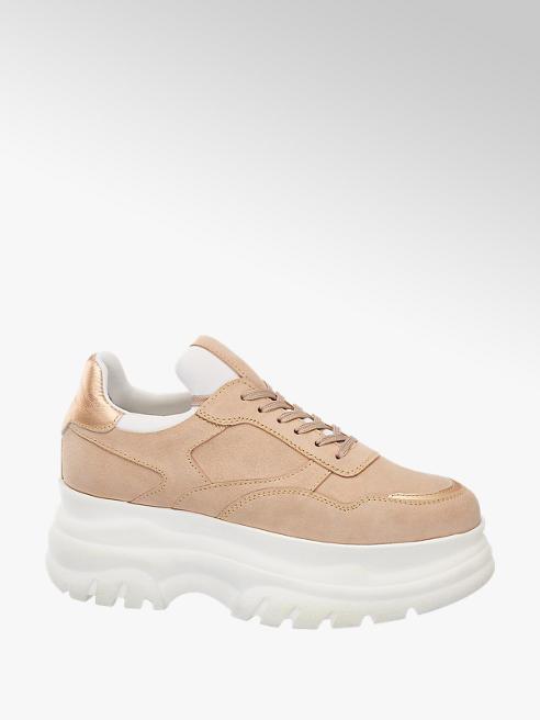 Catwalk Baracksárga chunky sneaker
