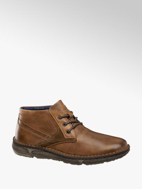 Gallus Barna bőr magasszárú cipő