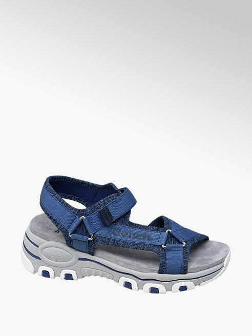 Bench Blue Velcro Sporty Sandals