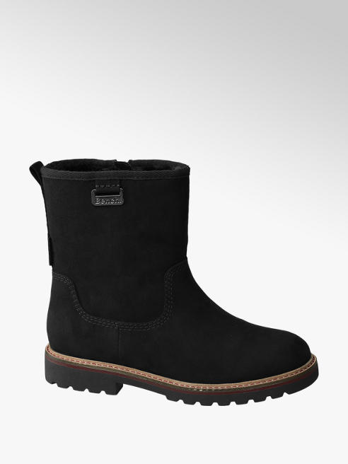 Bench Black Fur Lined Boots