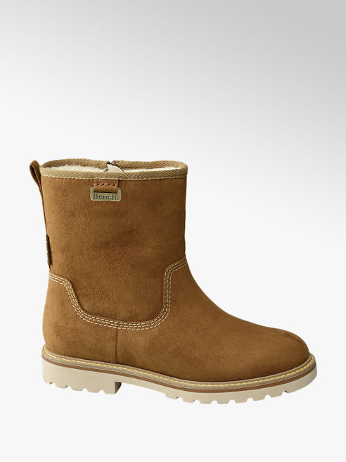Bench Tan Fur Lined Boots