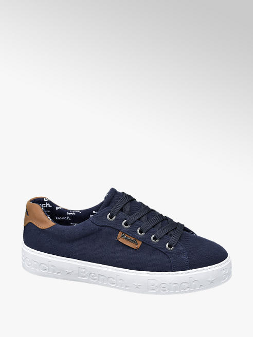 Bench Ladies Bench Navy Lace Up Trainers