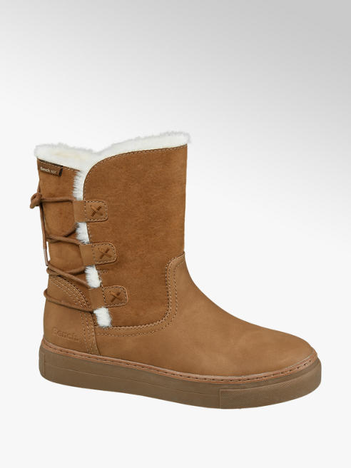 Bench Tan Warm Lined Ankle Boots